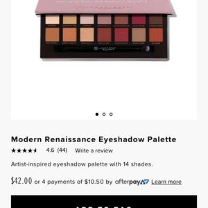 New Anastasia eyeshadow palette